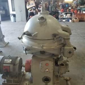 Nanjing DZY-50 Oil Separator Disc Centrifuge