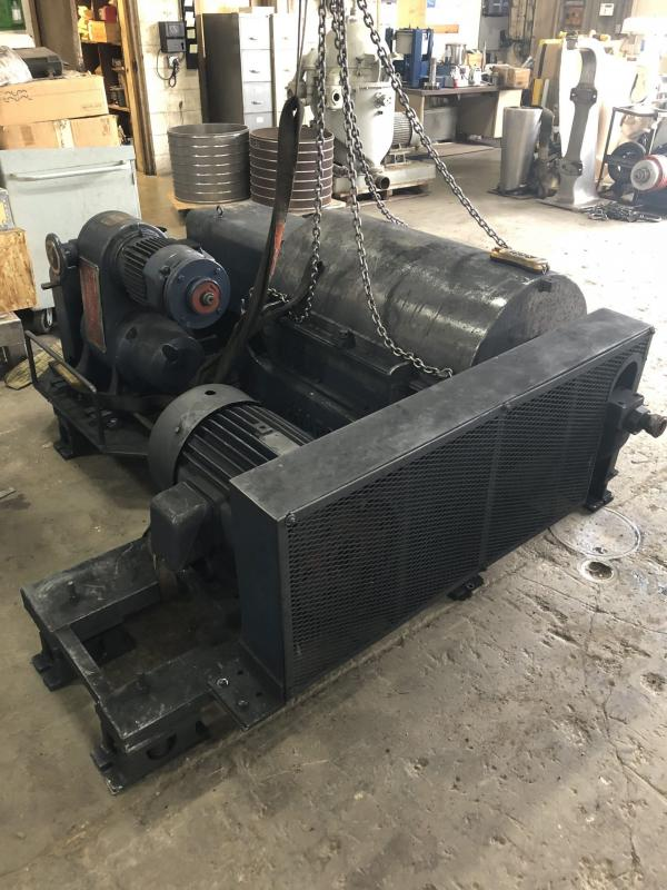 P3000 Complete with Sub Base, Motor, and Controls